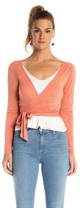 Synergy Barre Wrap Top