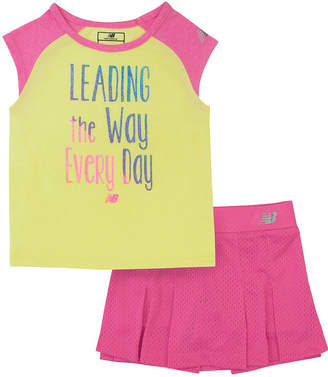 Gerber 2-pc. Skort Set Baby Girls