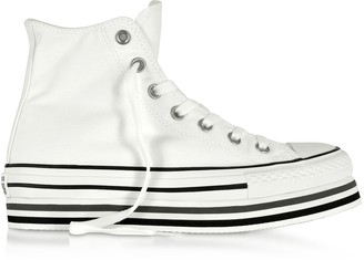 Converse Limited Edition Chuck Taylor All Star Platform Layer White Sneakers