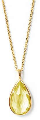 Ippolita 18k Rock Candy® Teardrop Pendant Necklace, Citrine