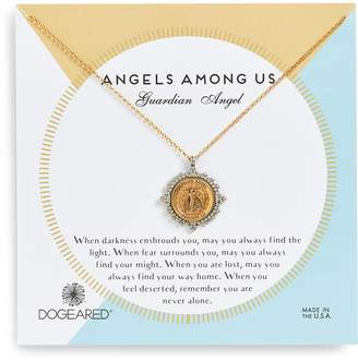 Dogeared Angels Among Us Guardian Angel Pendant Necklace