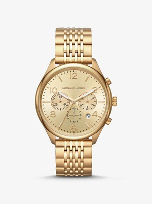Michael Kors Merrick Gold-Tone Watch