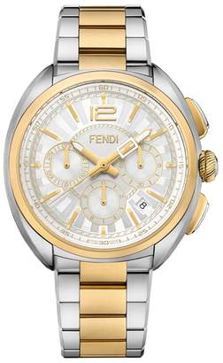 Fendi Momento Chronograph Bracelet Watch, 46mm