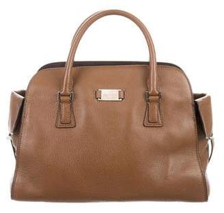 Michael Kors Leather Gia Satchel