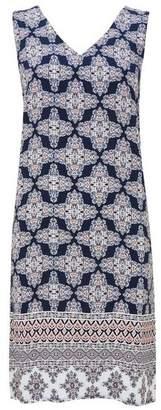 Wallis Blue Printed Shift Dress