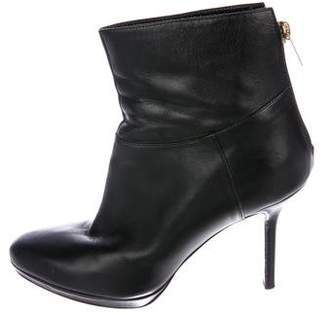 Jimmy Choo High-Heel Leather Booties