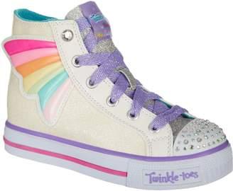 Skechers Wander Wings Youth US 1.5 Multi Color Sneakers