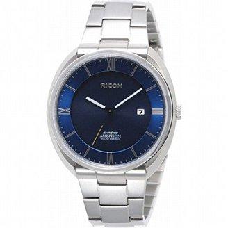 5e9b9f9346 Nobrand リコーエレメックス ソーラーエネルギー紳士ウオッチ メンズ腕時計 (697007-03)