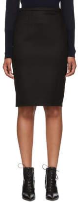 Max Mara Black Oliveto Skirt