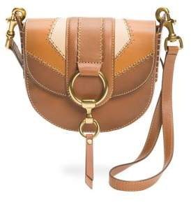 Frye Ilana Colorblock Small Saddle Bag