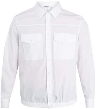 Neil Barrett Utility pocket cotton-blend shirt