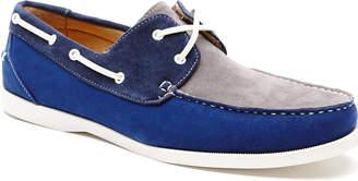 Cubavera Tri-Color Suede Boat Shoe