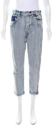 3.1 Phillip Lim Mid-Rise Straight-Leg Jeans