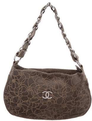 b0ddecdb39 Grey Suede Hobo Bag - ShopStyle