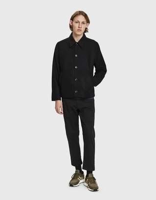Norse Projects Elliot Wool Jacket in Black