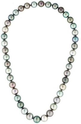 Tiffany & Co. Multicolor Tahitian Pearl Necklace $7,495 thestylecure.com