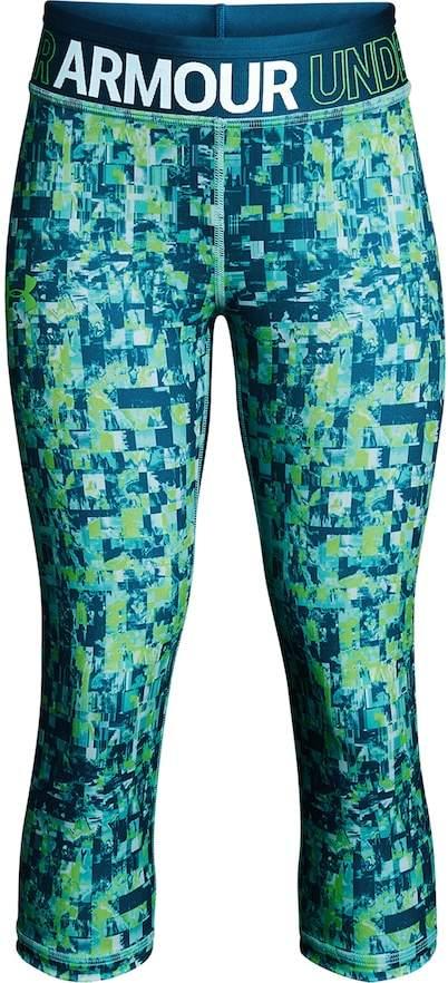 Under Armour Girls 7-16 Under Armour HeatGear Printed Capri Leggings