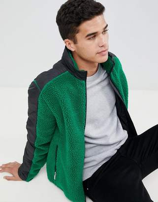 Hunter midlayer fleece in green