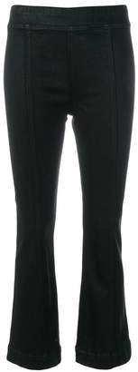Helmut Lang bootcut cropped trousers