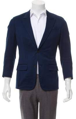 Louis Vuitton Deconstructed Two-Button Blazer