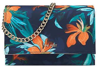 Nine West Mini Anndi Floral Convertible Clutch