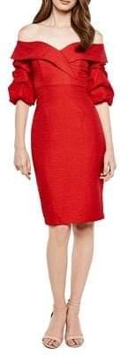 Bardot Devlin Twisted Sheath Dress