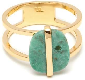 Lola Rose Bassa Mini Ring Azurite
