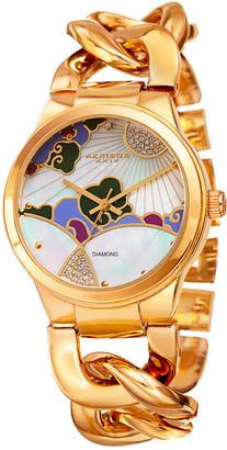 Akribos XXIV Akribos Xxvi Women's Alloy Diamond Watch