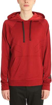 Lanvin Red Cotton Hoodie