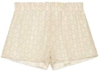 Gucci GG macramé shorts