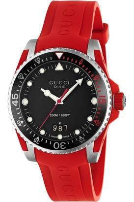 b9ab6591c38 Gucci Unisex Dive Watch YA136309