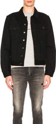 Saint Laurent Denim Jacket in Black