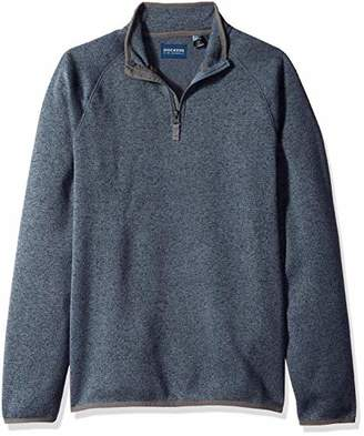Dockers Quarter Zip Sweater Fleece