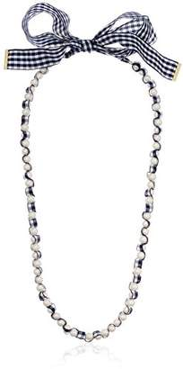 Kate Spade Long Necklace Pretty Pearly Long Navy Multi Necklace
