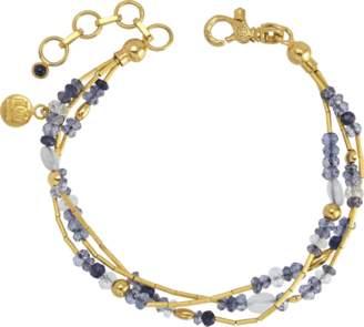 Gurhan Triple Strand Delicate Flurries Station Bracelet