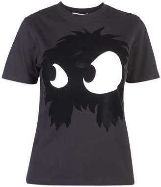 McQ Black Printed T-shirt