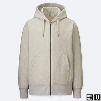 Uniqlo Men's U Sweat Long-sleeve Full-zip Hoodie