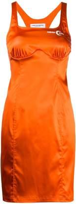 Marine Serre sleeveless tailored dress