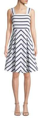 Draper James Nautical Striped Dress