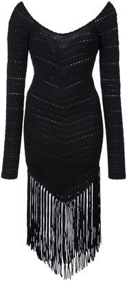 Ronny Kobo fringed dress