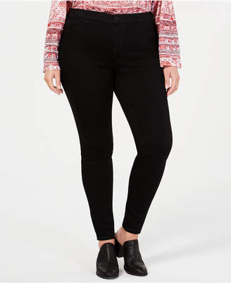 Style&Co. Style & Co Plus Size Faux-Fly Jeggings