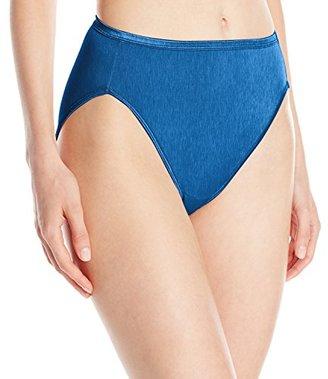 Vanity Fair Women's Body Shine Illumination Hi-Cut Brief Panty $11.50 thestylecure.com