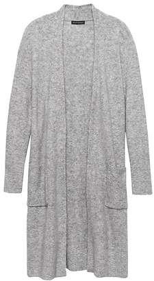 Banana Republic Plush Wool Blend Duster Cardigan Sweater