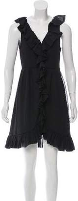 Marc by Marc Jacobs Silk Ruffled Dress