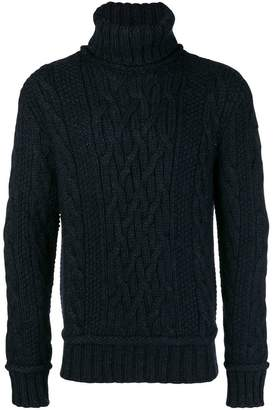 Paul & Shark cable knit sweater