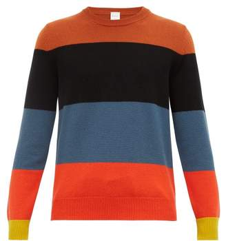 Paul Smith Artist Stripe Cashmere Sweater - Mens - Multi