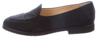 Bottega VenetaBottega Veneta Semi Pointed-Toe Nylon Loafers