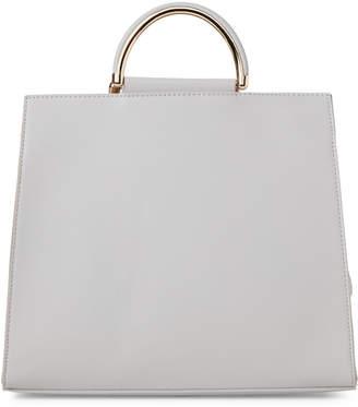 Moda Luxe Dove Grey Noelle Bag-in-Bag Satchel