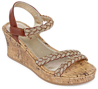 Arizona Utopia Wedge Sandals - Little Kids/Big Kids