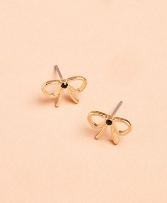 Brooks Brothers Bow Stud Earrings